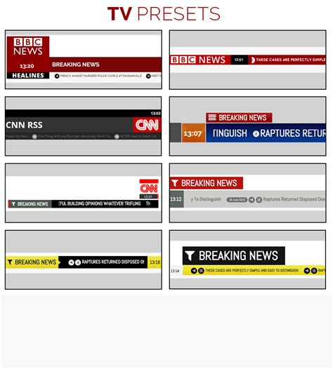 Pro News Ticker & Marquee for Visual Composer : Display