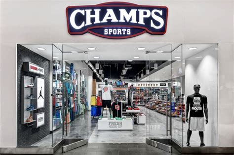 High Performing Champs Sports Stores   Chute Gerdeman