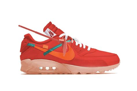 Off-White x Nike Air Max 90 University Red : Release date