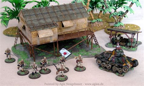Agis Page of miniature painting and gaming - Pacific War