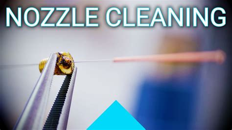Basics: Cleaning out a clogged nozzle! - YouTube