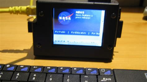 Homemade Tablet - Raspberry Pi with Touchscreen - DIY