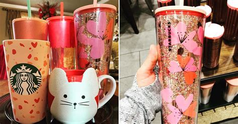 Starbucks Dropped New Valentine's Day Mugs and Cups For