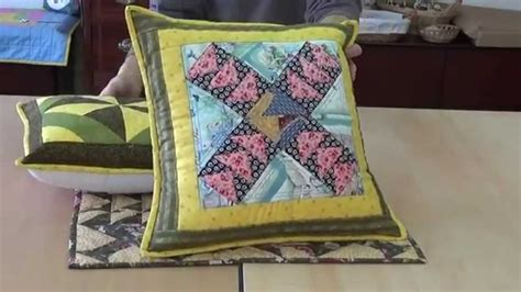 Cojines patchwork - YouTube