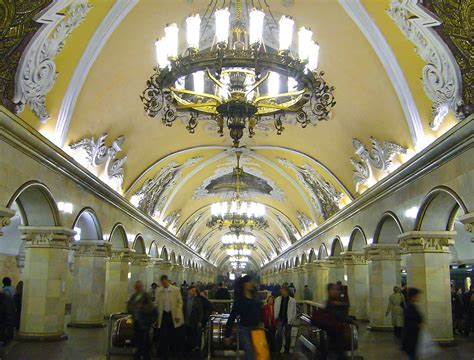 Four Things You May Not Know About the Moscow Subway