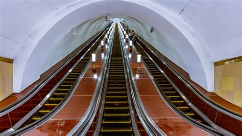Subway surfing: inside Moscow's metro | Condé Nast