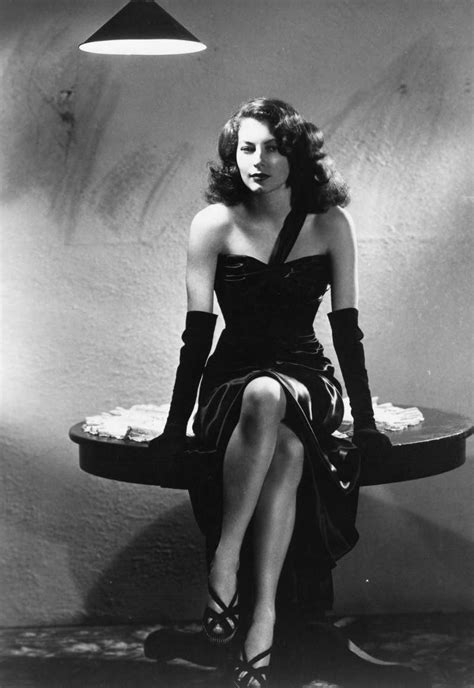 Ava Gardner, 1946 - Fists and