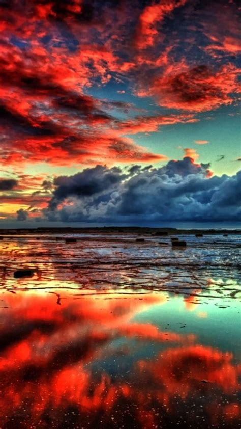 Red sky wallpaper by ceshac - b4 - Free on ZEDGE™