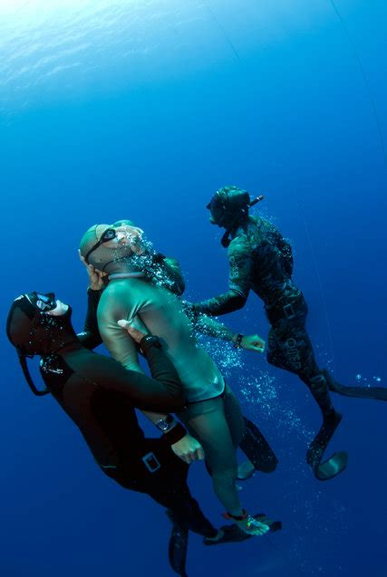 A Diver's Rise, and Swift Death, at the Limits of a