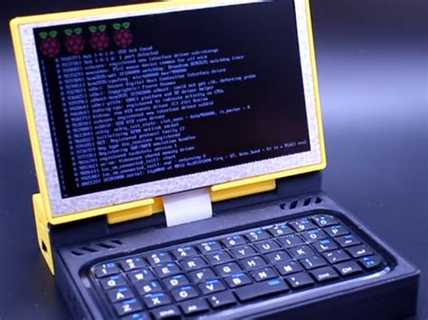 This Raspberry Pi-powered laptop is tiny enough to fit in