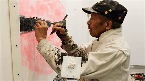 Watch a Video of the Late Artist Jack Whitten Working on