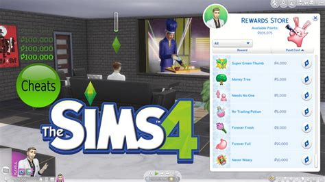 Sims 4 Cheat for Free Satisfaction Points - The Sim Architect