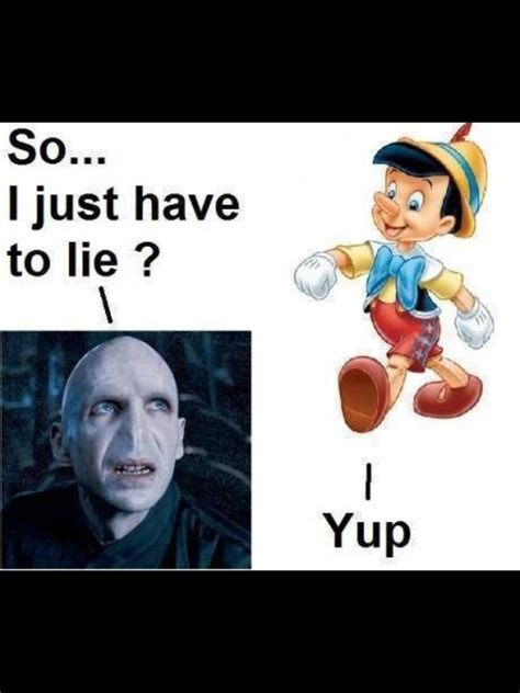 Pinocchio would know | Harry potter memes hilarious, Harry