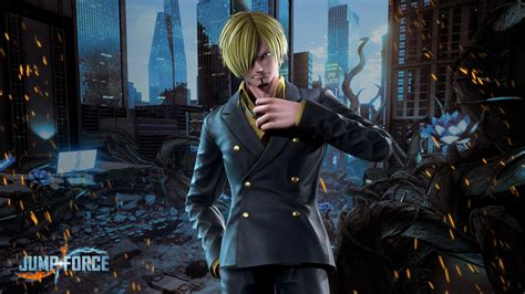Jump Force Sanji Wallpapers   Cat with Monocle